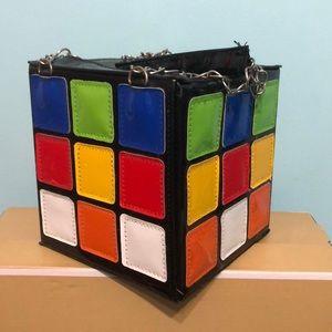 Rubik's cube purse